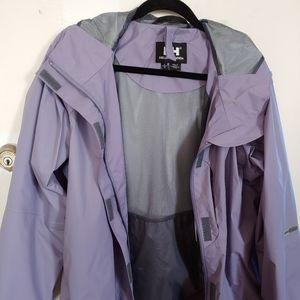 Helly Hansen lavender light raincoat
